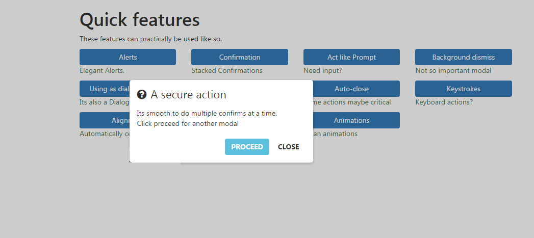 Jquery confirm jquery plugin for alert confirm and dialog box designing king - Jquery refresh div on click ...