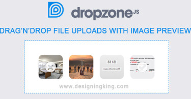 dropzonejs file uploads with image previews