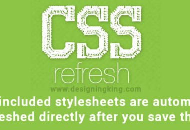 CSSrefresh jquery plugin Stylesheets refresh automatically after save